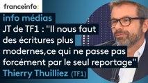 """JT de TF1 : """"Il nous faut des écritures plus modernes, ce qui ne passe pas forcément par le seul reportage"""""""