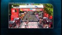 Cyclisme Tour d'Espagne: Simon Yates devance Peter Sagan champion du monde à la 18ème étape