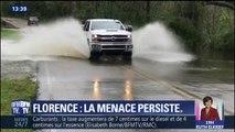 La tempête Florence a été rétrogradée en dépression tropicale mais les pluies diluviennes tombées sur le Sud-Est des États-Unis restent un danger