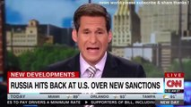 BREAKING NEWS RUSSIA HITS BACK AT U S OVER NEW SANCTIONS. CNN