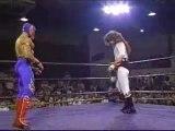 Debut de Rey Mysterio (Rey Misterio Jr.) y Psicosis (Nicho El Millonario) en ECW.