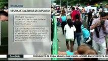 Gobierno ecuatoriano rechaza declaraciones de Luis Almagro