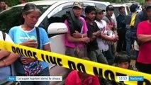 Le typhon Mangkhut sème le chaos sur son passage en Asie