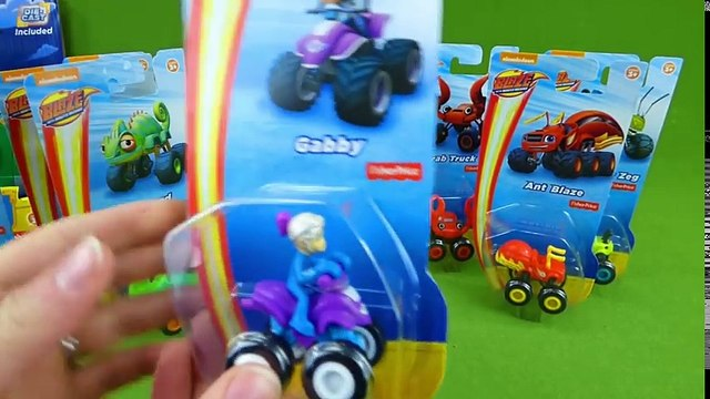 Blaze and the Monster Machines Toys Monster Copter Swoops Mini Gabby Lazard Animal Island Trucks Toy