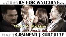 Ridge has a dangerous plan The battles of Bill and Ridge will soon end The Bold and The Beautiful