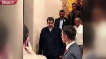 Venezuella Devlet Başkanı Maduro, Nusret'te ziyafet çekti