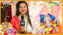 Sambhavna Seth House Ganpati | Shares Her Best Bappa Moment - Exclusive Interview | TellyMasala