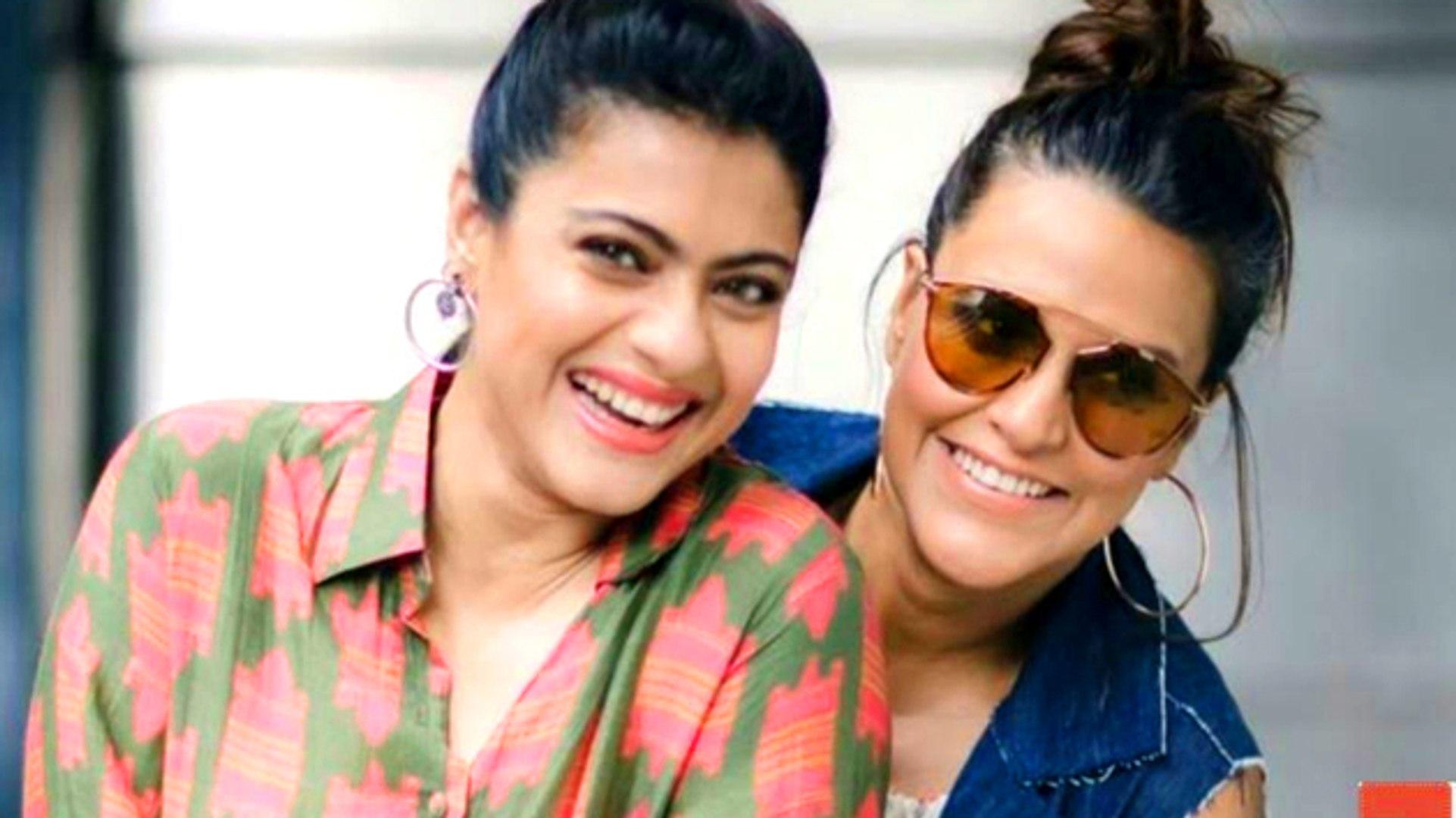 Kajol & Pregnant Neha Dhupia's CUTE Moments At Recording Of No Filter Neha Season 3