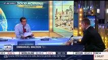 """Emmanuel Macron """"exclut formellement de modifier"""" les droits de succession sous sa présidence - 18/09"""