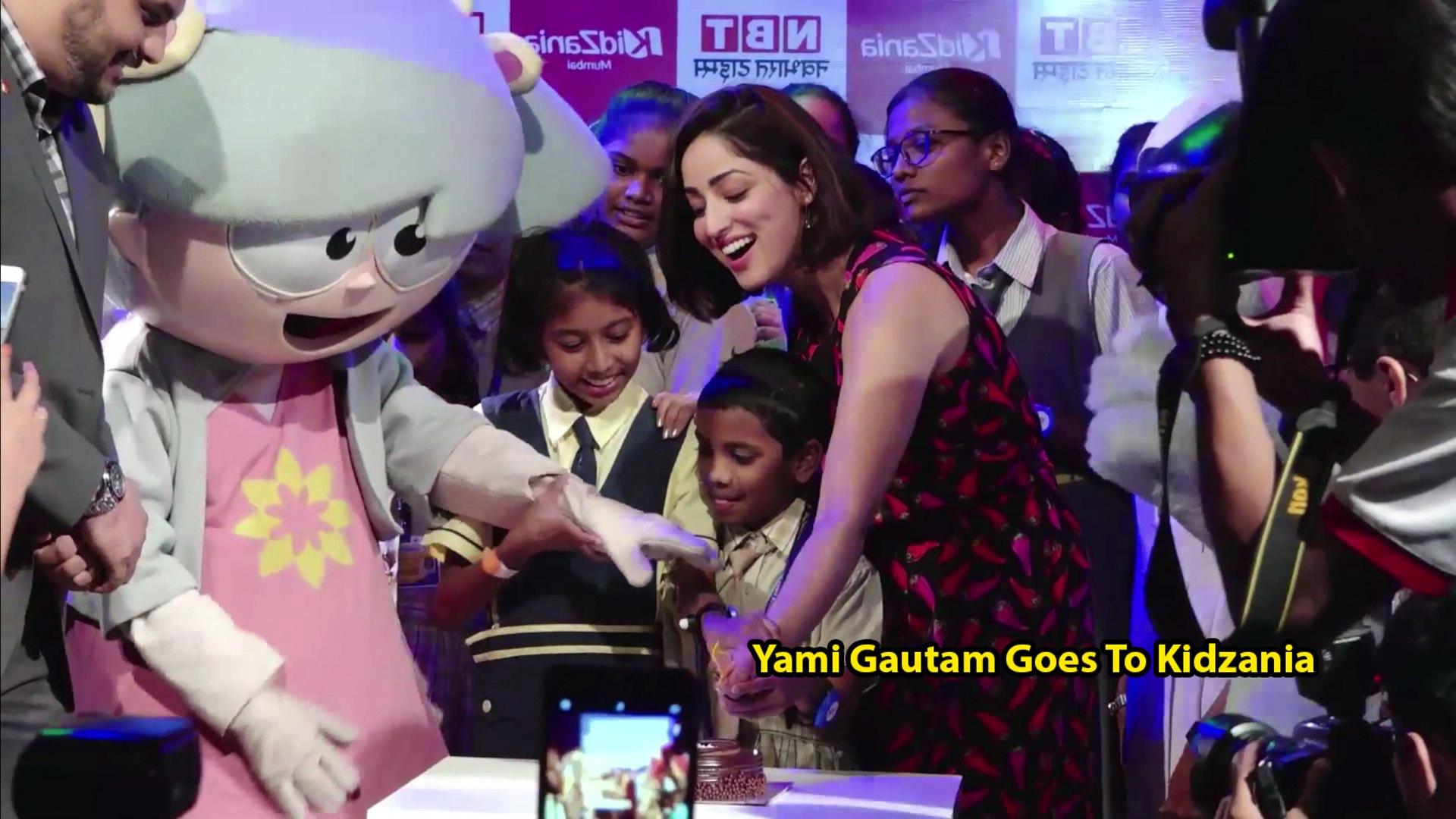 Yami Gautam Goes To Kidzania To Meet Vimala Society