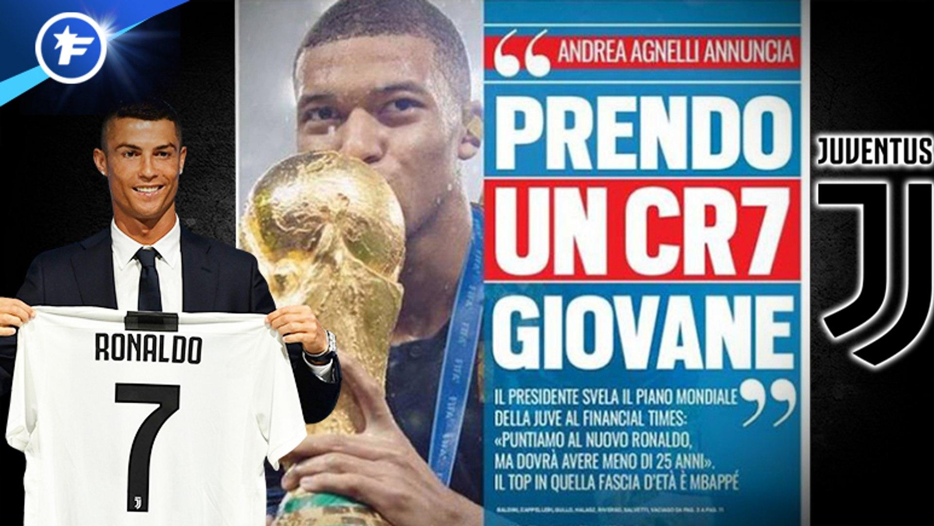 La Juventus vise un jeune CR7 pour l'avenir, le boss d'Arsenal file à l'AC Milan