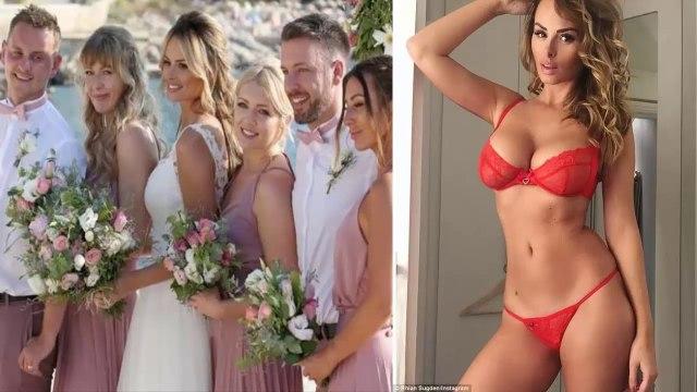 Cristiano Ronaldo's ex-girlfriend Rhian Sugden Married