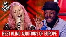 The Voice Global | BEST Blind Auditions of EUROPE