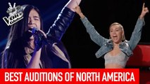 The Voice Global | BEST Blind Auditions of NORTH AMERICA