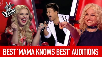 The Voice Kids   BEST 'MAMA KNOWS BEST' Blind Auditions