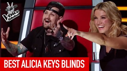 The Voice Kids   BEST ALICIA KEYS Blind Auditions