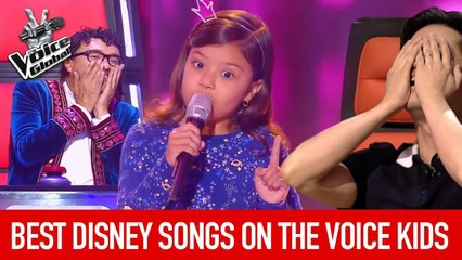 The Voice Kids   BEST DISNEY SONGS in The Blind Auditions [PART 2]