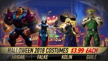 Street Fighter V : Arcade Edition - Les costumes Halloween 2018