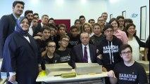 Cumhurbaşkanı Erdoğan Kabataş Lisesi'ni Gezdi
