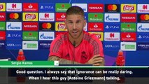 Ramos criticises Griezmann for saying he is as good as Messi and Ronaldo