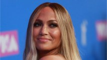 Jennifer Lopez Looks Just Peachy