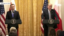 Trump Standing Next To Polish President Andrzej Duda: We've Been 'Ripped Off' By European Union