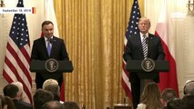Polish President Andrzej Duda Wants US Military Base Called 'Fort Trump' In Poland