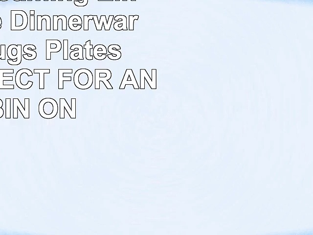 16 Piece Roaming Elk Stoneware Dinnerware Set w Mugs Plates  Bowls PERFECT FOR ANY