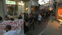 Les habitants de Lesbos partagés face à la crise migratoire