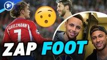Zap Foot : Neymar défie Steph Curry, CR7 fait le clown