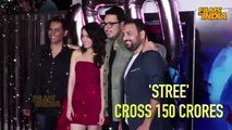 'Stree movie Hit, Crosses 150 Crore! Celebration Party | Shraddha kapoor & Rajkumar Rao Party