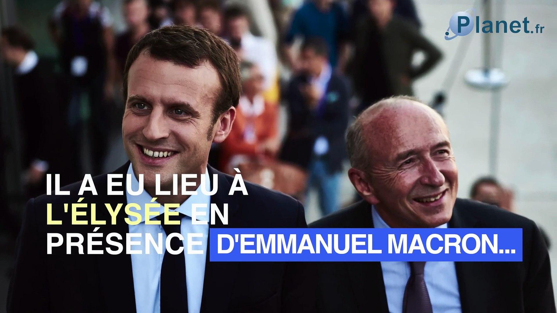 Brigitte Macron : un dîner secret avec Gérard Collomb