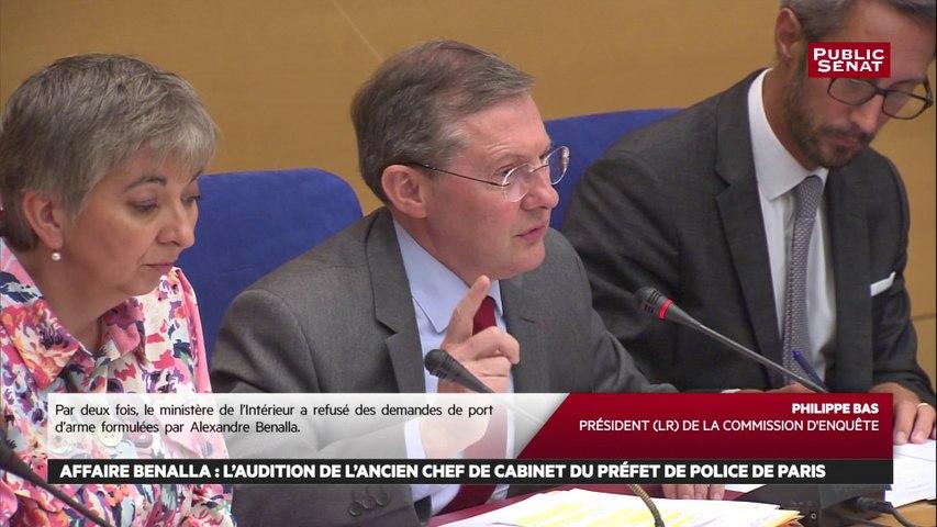 « Des versions évolutives » concernant la mission exacte d'Alexandre Benalla pour Philippe Bas