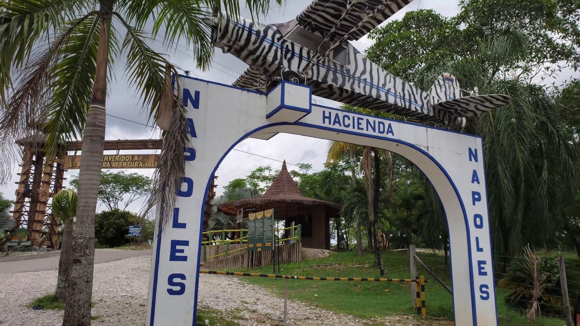 Visitando La Antigua Finca De Pablo Escobar 4k Hoy Conocida Como La Hacienda Napoles