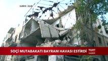 TGRT Haber Ve İhlas Haber Ajansı İdlib'de