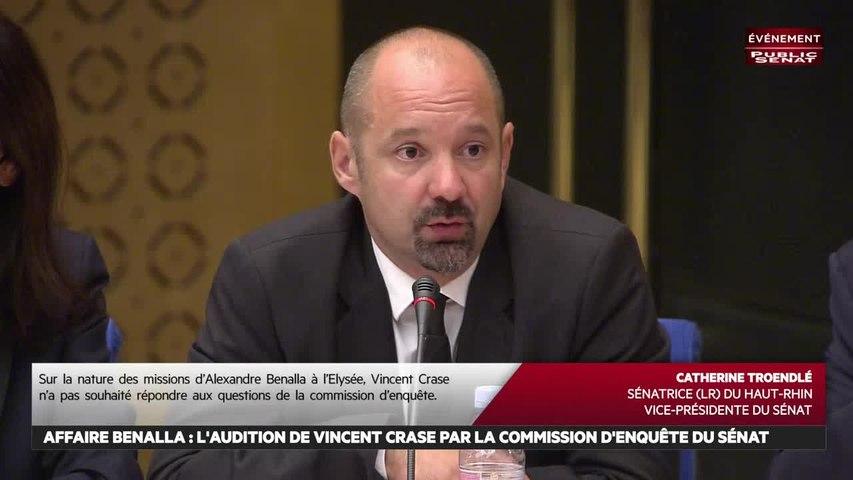 Affaire Benalla : Audition de Vincent Crase, gendarme réserviste