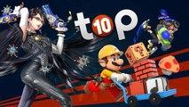 Les 10 meilleures exclusivités de la WII U ! | TOP 10