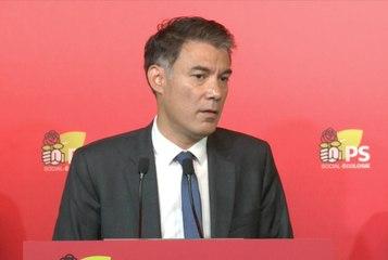 Conférence de presse d'Olivier Faure : « La gauche est l'avenir de l'Europe ».