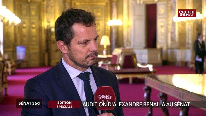 Audition Benalla : « un interlocuteur intelligent, habile, très bien préparé » selon Jérôme Durain