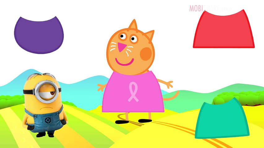 Wrong Colors Peppa Pig and Friends Baby Learn Colors with Finger Family