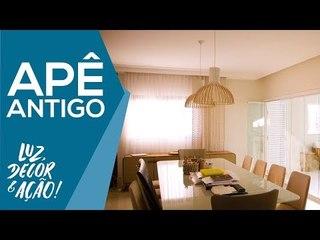 Reforma e Decoração de Apartamento Antigo Espaçoso - Luz, Decor & Ação!