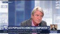 """Migrants: """"Nous ne prenons pas notre part"""" estime Bernard Kouchner"""