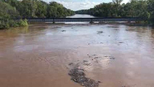 North Carolina's Cape Fear River Rises to Over 60 Feet