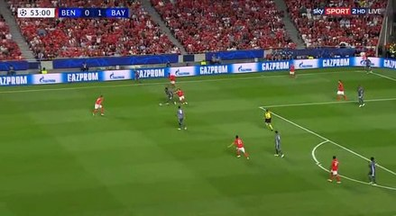 Renato Sanches Goal HD -  Benfica0-2Bayern Munich 19.09.2018
