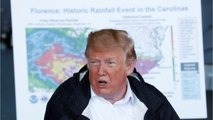 Trump Asks About Conditions Near One Of His Golf Courses While Surveying Hurricane Florence Damage