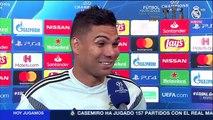 """Casemiro: """"Le daría el Balón de Oro a Cristiano"""""""