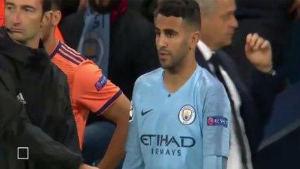 Résumé : Le match de Riyad Mahrez vs Lyon