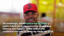 Kanye West anuncia álbum conjunto con Chance the Rapper