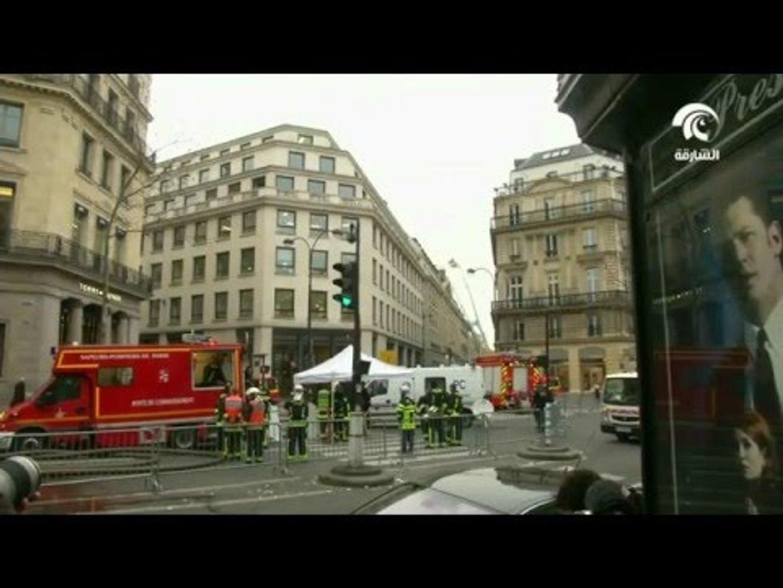 حريق في فندق ريتز الفاخر الذي يعاد تجديده في باريس