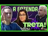 "TRETA! ANA PAULA Vs. EVANDRO SANTO | Comentando ""A FAZENDA 10"" | Programa de 19/09/2018"